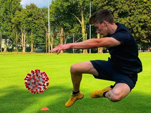 Fussball-Training in Zeiten der Corona-Pandemie